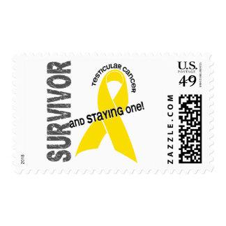Testicular Cancer Survivor Postage Stamps