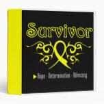 Testicular  Cancer Survivor Tribal Medical Binder