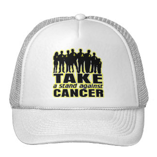 Testicular Cancer -Take A Stand Against Cancer Trucker Hat