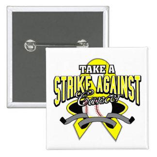 Testicular Cancer Take A Strike Pin
