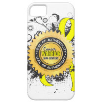 Testicular Cancer Warrior 23 iPhone SE/5/5s Case
