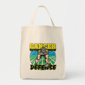 Testicular Cancer Will Never Break My Defense Tote Bags