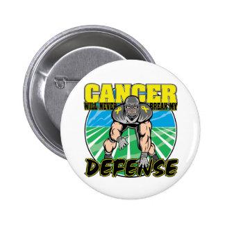 Testicular Cancer Will Never Break My Defense Pins
