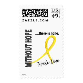 Testicular Cancer Without Hope 1 Postage