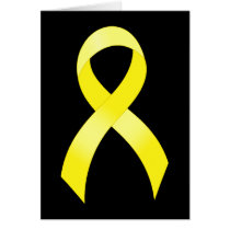 Testicular Cancer Yellow Ribbon