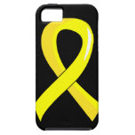 Testicular Cancer Yellow Ribbon 3 iPhone 5 Case