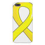 Testicular Cancer Yellow Ribbon 3 iPhone 5 Cover