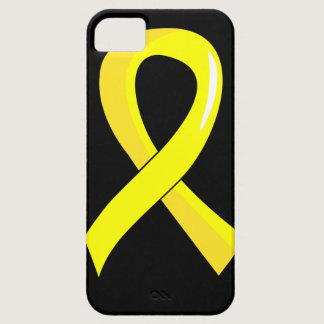 Testicular Cancer Yellow Ribbon 3 iPhone SE/5/5s Case