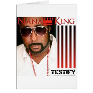 Testify Card