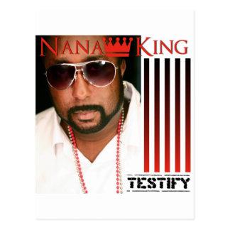Testify Postcard