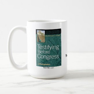 Testifying Before Congress Coffee Mug