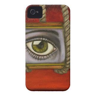 Testigo 2 del ojo carcasa para iPhone 4 de Case-Mate