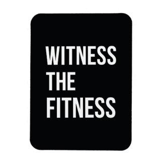Testigo de la cita de entrenamiento el blanco del