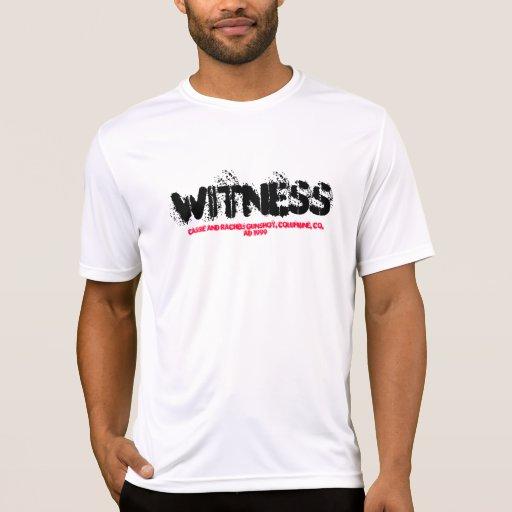 "Testigo… Def: ""Queriendo morir por su fe "" Camiseta"