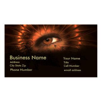 Testigo del ojo plantillas de tarjetas personales