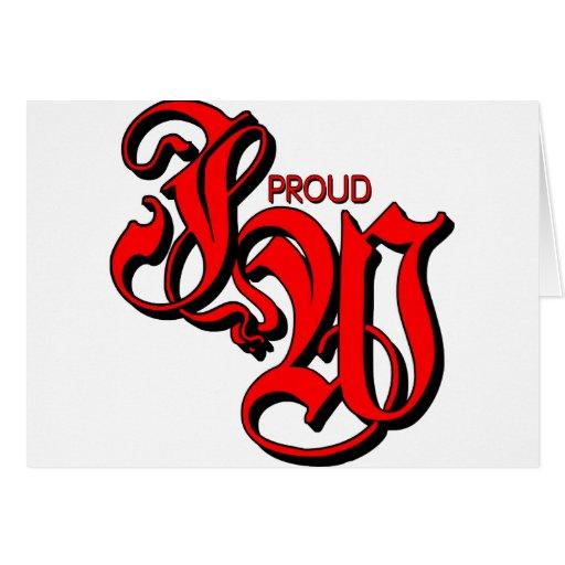 Testigo orgulloso de JW Jehovahs Tarjeta De Felicitación