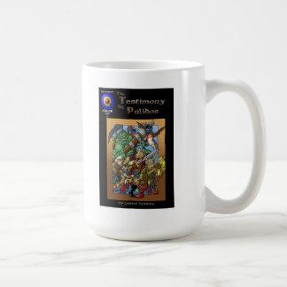 Testimony of Palidos issue one cover Classic White Coffee Mug