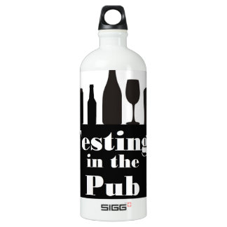 Testing In The Pub branded Aluminum Water Bottle
