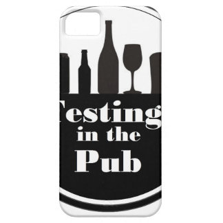 Testing In The Pub branded merchandise iPhone 5 Cover