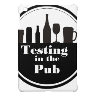 Testing In The Pub branded merchandise iPad Mini Cases