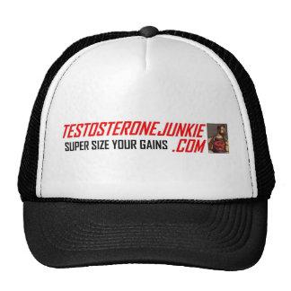 Testosterone Junkie Trucker Hat