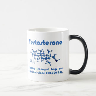 Testosterone Molecule Mug