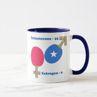 Testosterone Ping Pong Mug