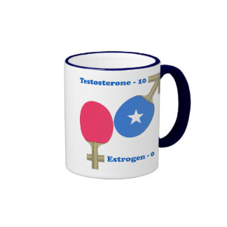 Testosterone Ping Pong Ringer Mug