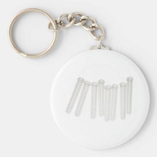 TestTubes071209 Basic Round Button Keychain
