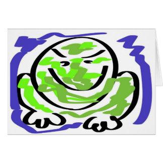 Testy frog card