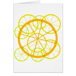 Testy/zesty fruits card