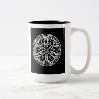 'Tesuque Pattern' Two-Tone Coffee Mug
