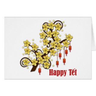 Tet Hoa Mai Greeting Card Greeting Card