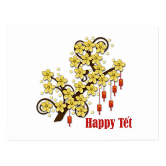 Tet Hoa Mai Postcard