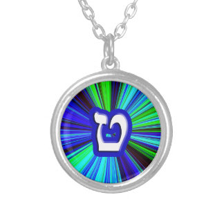 Tet, Tes - 3D Effect Silver Plated Necklace