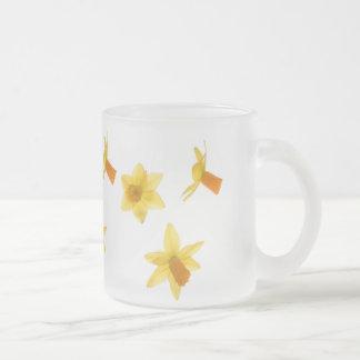 Tête à tête frosted glass coffee mug