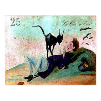 Tete A Tete   Postcard
