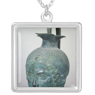 Tete de Gabies' Silver Plated Necklace