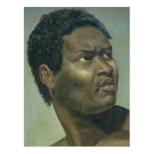 Tête de Nègre (cabeza de un negro) por Gros Tarjetas Postales