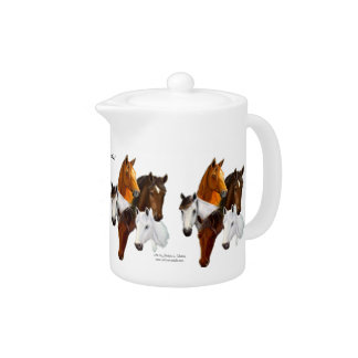 Tetera, 5 cabezas de caballo