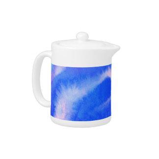 Tetera Arte-temática de los azules y de las