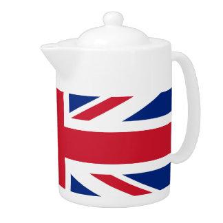 Tetera británica de la bandera