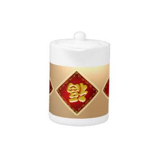 Tetera china del Año Nuevo