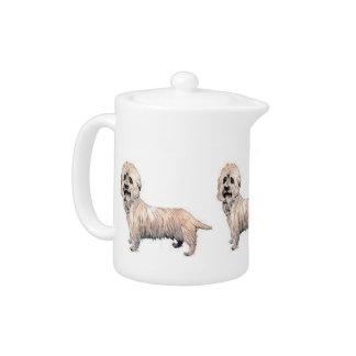 Tetera de Dandie Dinmont Terrier