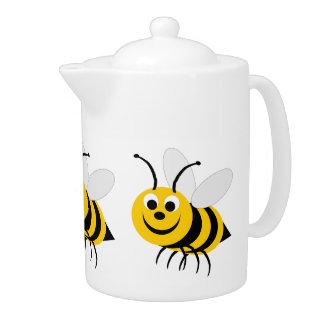 Tetera de la abeja de la miel