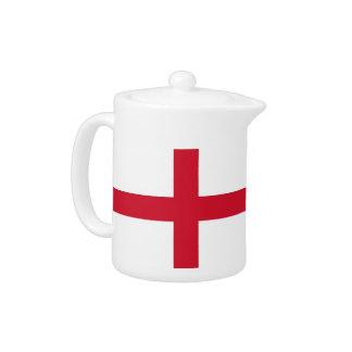 Tetera de la bandera de Inglaterra