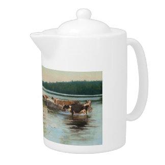 Tetera de la opinión del lago Keinänen