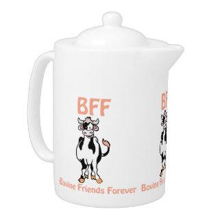 Tetera de la vaca BFF