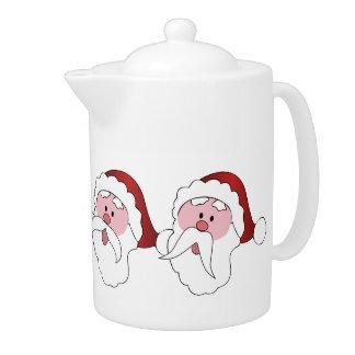 Tetera de los bigotes de Santa