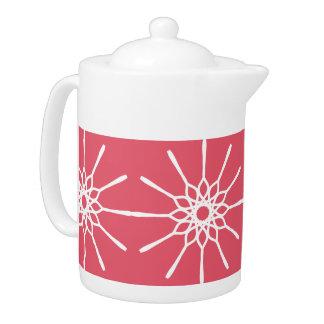 Tetera de Starburst - rosa de la frambuesa